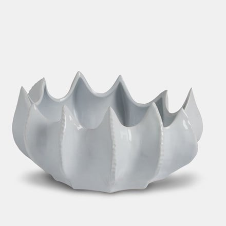 White ceramic decorative bowl