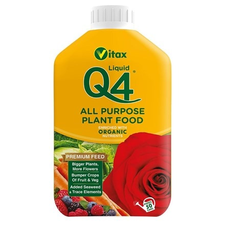 Vitax Q4 liquid all purpose plant food