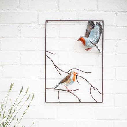 Tree top robin plaque