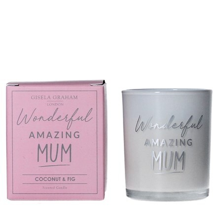 Mum mini scented boxed candle pot