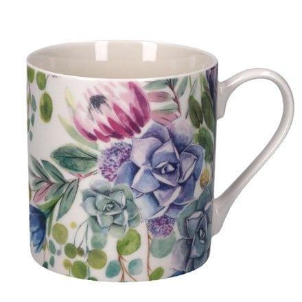 Desert blooms ceramic mug