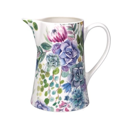 Desert blooms ceramic jug medium