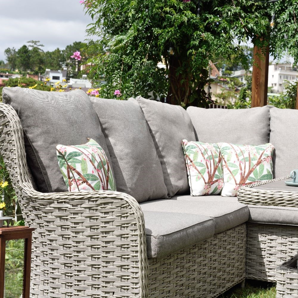 Lifestyle Garden Samoa high back corner sofa set