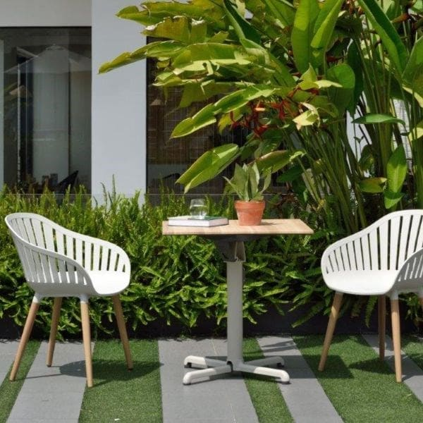 Lifestyle Garden Portals bistro set with folding table