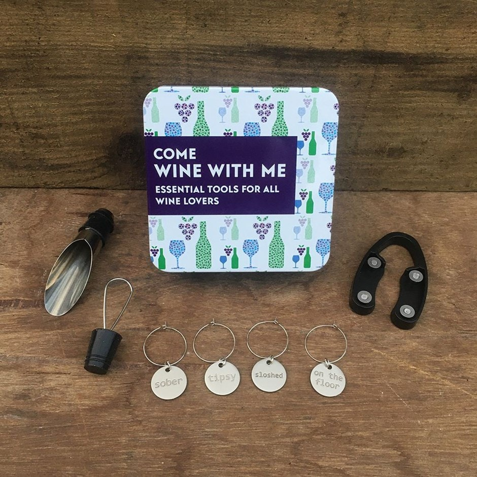 Come wine with me gift set