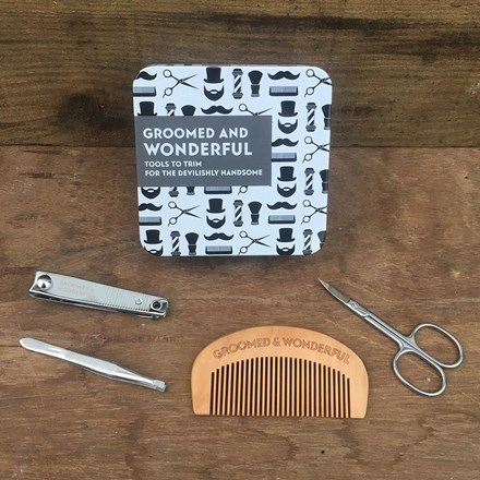 Groomed and wonderful gift set