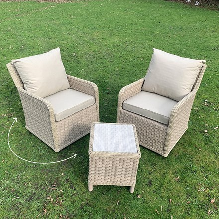 Bramblecrest Patagonia swivel chair set