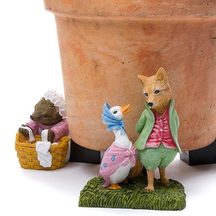 Potty feet Beatrix Potter set