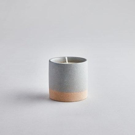 Earth and sky candle pot - tranquility