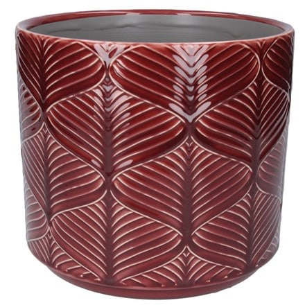 Berry wavy large pot cover
