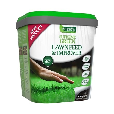 Empathy supreme green lawn feed and improver