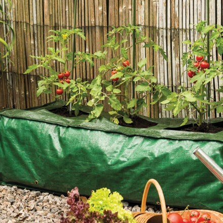 Heavy duty reusable grow bag