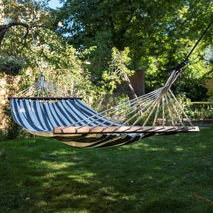 Swing hammock with bars - Negrita