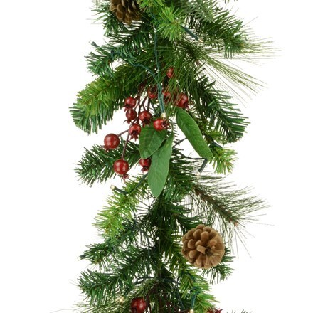 Mixed pine garland - 1.8m