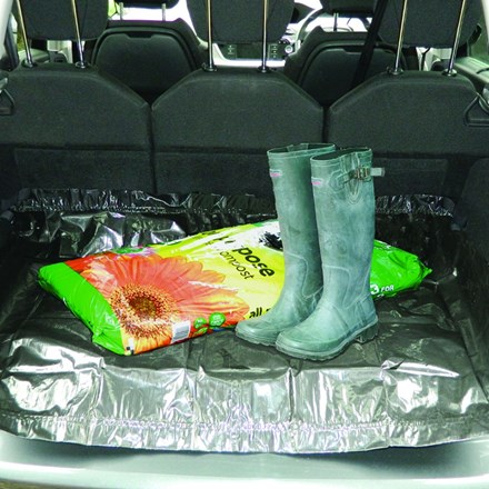 Compact car boot liner