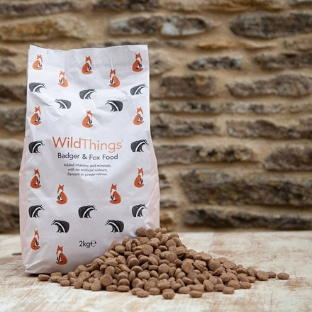 Wildthings badger & fox food 2kg
