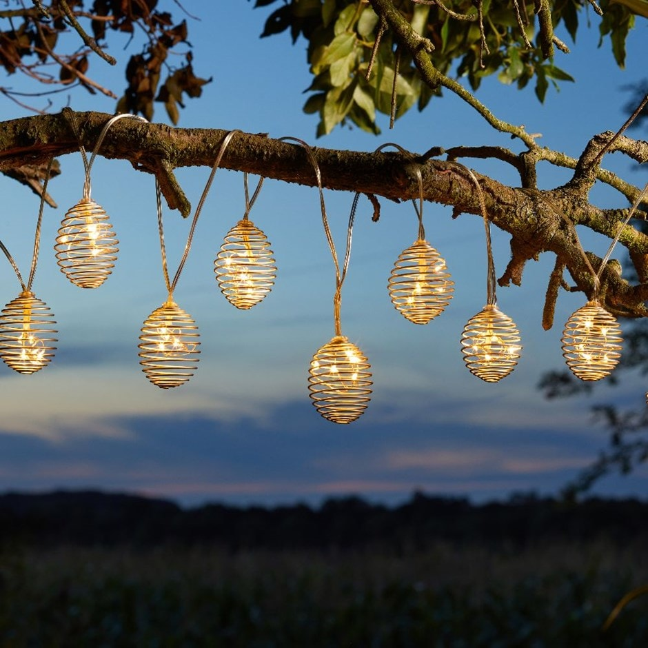 Spiralight string lights
