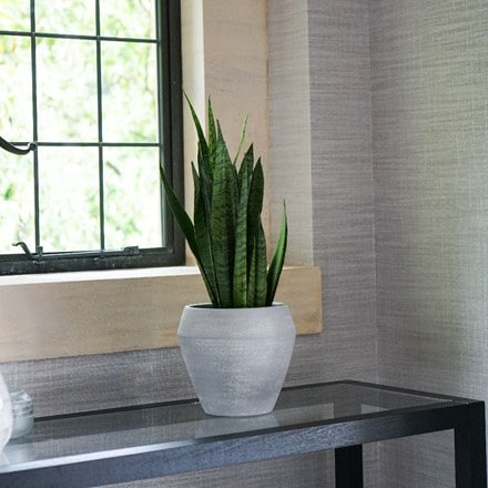 Seia planter light grey