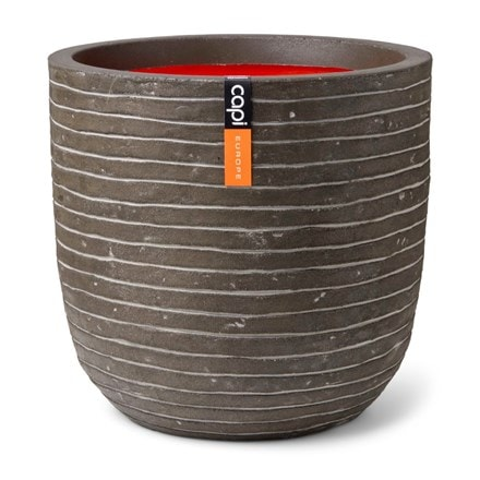 Cadix planter ball olive green