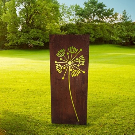 Dandelion decorative garden screen